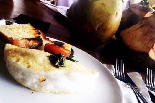BALI Food Review: Breakfast at SHELTER CAFE.